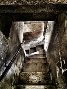 Downstairs. Tower. Split. Croatia.