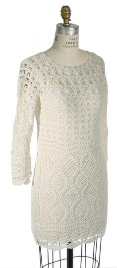 Hugo Boss Crochet Dress