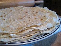 Nothing better than warm homemade tortillas