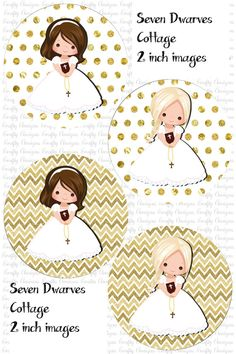 Première Communion, First Communion Party, First Holy Communion, Diy Party Banner, Baptism Banner, Angel Theme, Cupcake Toppers Free, Card Organizer, Party Centerpieces