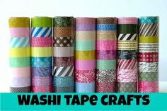 Happy in a Headlock : Washi Tape Crafts