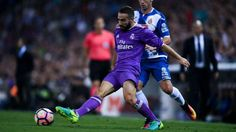 Dani Carvajal Dani Carvajal: Real Madrid not giving any points away   After missing out on the title by one point last season Dani Carvajal says Real Madrid will not be giving anything away this term. Madrid pushed Barcelona all the way to the final day of 2015-16 but were unable to topple the Catalan giants with both sides winning their final matches. Zinedine Zidane's team maintained their 100 per cent record at the start of the new campaign with a 2-0 victory over Espanyol on Sunday a…