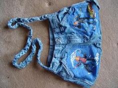 recycled jeans bag!