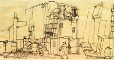 Walmer Yard Courtyard Design Sketch
