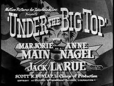 1938: Karl Brown - Under the Big Top (Marjorie Main, Jack La Rue)