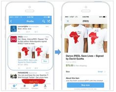 Twitter presents its shopping system on your network