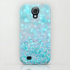 Sweetly Aqua Samsung Galaxy S4 case by Lisa Argyropoulos