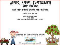 First Grade Fanatics: apples