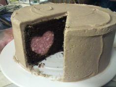 How to Bake Hearts inside a cake