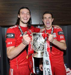 Pics: Wembley dressing room joy