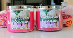 Bath And Body Works Candles♡ + missing summer