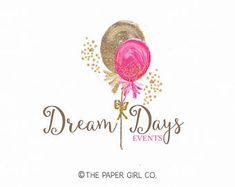 Vorgefertigten Logo-Design Logo Ballon Logo Party