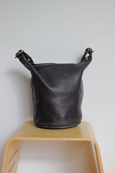 Vintage Coach Duffle Bag in Black Pre by magnoliavintageco Coach Duffle Bag, Coach Bags, Feed Bags, Good To Great, Vintage Coach, Bag Making, Hands, Birthday, Leather