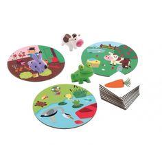 Gra edukacyjna Królik w ogrodzie, Djeco