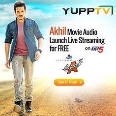 One of the most awaited Tollywood movies of this season Akkineni.Akhil's debut film 'AKHIL', is all set for a grand audio launch on 20th Sept 2015 6PM on the occasion of his grandfather Akkineni Nageswara Rao's birth anniversary.  Watch AKhil Movie Audio Launch Live Streaming on TV5 @ http://www.yupptv.com/akhil-audio-launch-live.html