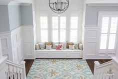 Beautiful alcoves in homes cannot be ignored! viaHouse of Turquoise: Stonecroft Homes