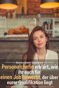 HR Manager explains how to apply for a job beyond your qualification - Karriere - Do What You Like, Good To Know, Ein Job, Chore Board, Life Hacks, Neuer Job, Hr Management, Job Work, Work Life Balance