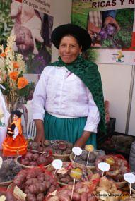 Festival de la Papa Nativa  | Yo Compro En El Mercado de Productores Farmers Market, Peru, Harvest, Gastronomia, Turkey, Farmers Market Display, Farmers' Market