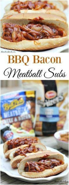 Looking for an easy Looking for an easy and flavorful game day...  Looking for an easy Looking for an easy and flavorful game day recipe? Try these BBQ Bacon Meatball Subs for a crowd or in a pinch. Recipe : http://ift.tt/1hGiZgA And @ItsNutella  http://ift.tt/2v8iUYW