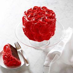 ☾☾ Halloween ☾☾ Sweet Treats ☾☾ Red Rose Cake