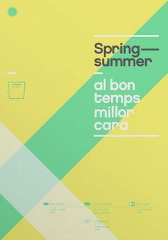 Summer Posters by meme design, via Behance