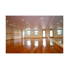 Chrystie Street Ballet Academy - Studio ❤ liked on Polyvore featuring house, pictures, backgrounds, home and rooms
