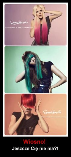 Spring! Where are you? ;) Great Lengths Hair hairstyle (Find us on: www.facebook.com/GreatLengthsPoland)