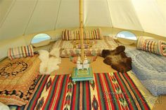 Bell tents are for loving
