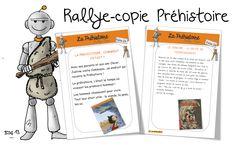 Rallye copie Préhistoire - Bout de gomme