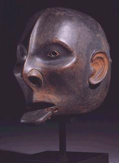 Tsimshian wood face mask - Sotheby's