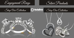 Add more Glamour to your Style with Jewellery Collection #Jewellery   #JewellerySets   #Rings   #DiamondRings   #Pendants   #DiamondPendants   #Bracelets   #EarRings
