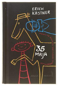 35 May by Erich Kästner 1956  | Design by Bohdan Butenko    → Nasza Księgarnia, Warszawa 2008 (1956)