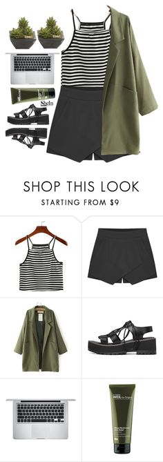 """""""#shein"""" by credentovideos ❤ liked on Polyvore featuring Apple, Origins and Lux-Art Silks"""
