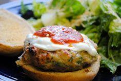 Homemade By Holman: Chicken Parmesan Burgers