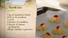 Biscotti ricci di mandorle | Ricette | Simonetta Agnello Hornby | Il pranzo di…