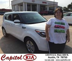 https://flic.kr/p/JWxLEu | Happy Anniversary to James on your #Kia #Soul from Brian Dean at Capitol Kia! | deliverymaxx.com/DealerReviews.aspx?DealerCode=RXQC