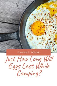 Eggs are an essential camping food. But how long will eggs last when we're out in the field and away from our refrigerator? Diy Camping, Tent Camping, Camping Gear, Camping Hacks, Outdoor Camping, Camping Products, Camping Supplies, Camping Essentials, Ways To Travel