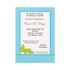 Gator Birthday Invite