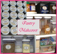 Cornerstone Confessions: Pantry Makeover
