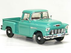 1955 CHEVY Truck Ertl 1:18 Scale DieCast Metal Model Car 55' Chevrolet Pick Up