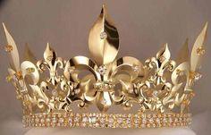 Gold Men's Crown