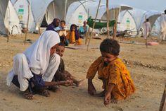 #Pakistan #ShelterBox #Kidsplaying #Happykids