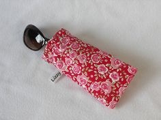 Glasses mobile/cell phone case  made with a red by LizzyMullender  etsy.com/shop/lizzymullender
