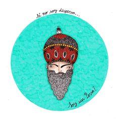 Si no soy dispersa...soy un Persa? by Andrea Posada Escobar, via Flickr