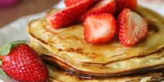 5 tips to improve your pancakes - Recetas dulces - Delicious Pancakes High Protein Breakfast, Breakfast Snacks, Tasty Pancakes, Time To Eat, Slice Of Bread, Pasta, How To Make Salad, Melted Cheese, Sweet Cakes