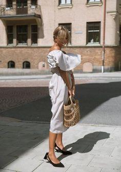 Ganni street style | Mathilda Djerf | Sabine Pumps