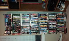 dvd storage using old vhs tapes