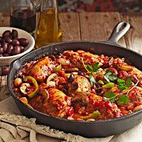 Chicken Cacciatore (Better Homes & Gardens)    Weight Watchers Points Plus = 7