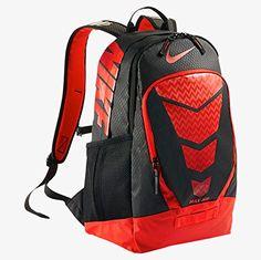 innovative design d2a48 7e6b9 Amazon.com  Nike Vapor BP Large Backpack Volt Black Met Silver  Sports    Outdoors