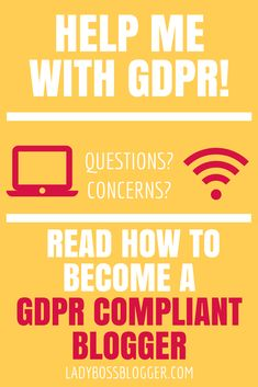 How To Become A GDPR